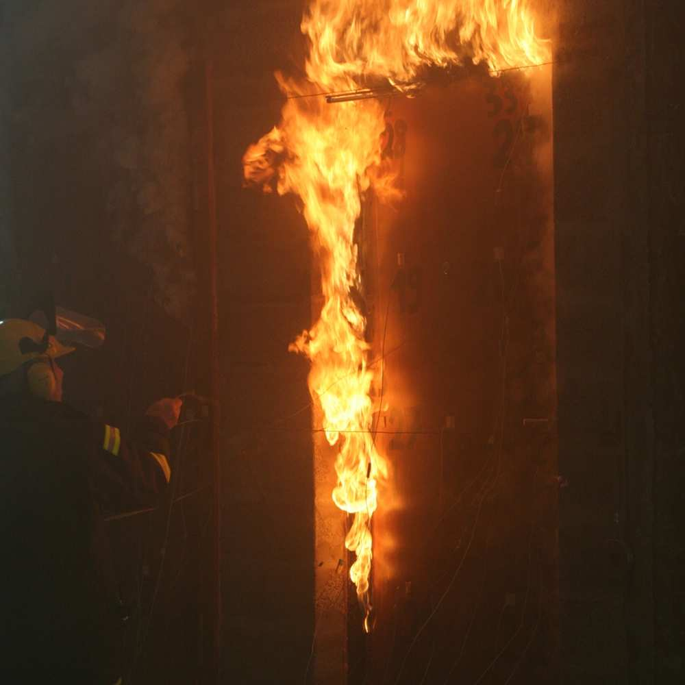 13_Not every security entrance door material is fire resistant
