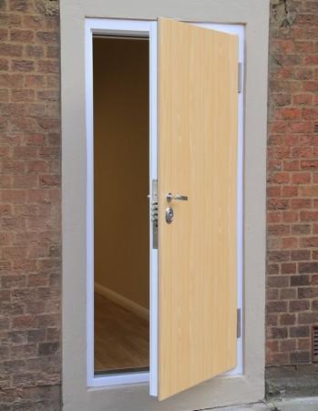 0137_Exterior door for office