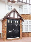 0151_Double leaf security front door with tripple glazed panels outer view