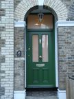0159_Custom made Victorian style security front door with top panel
