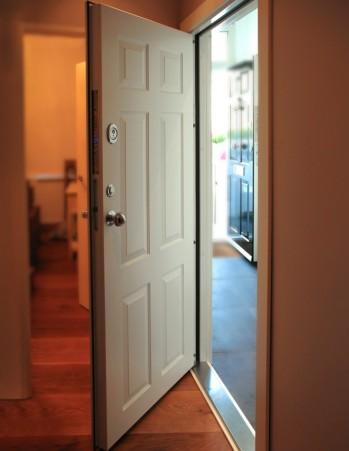 0164_Six panel exterior door