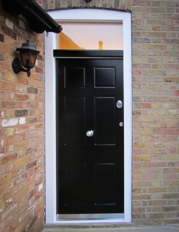 0227_Six panel entrance door with top panel